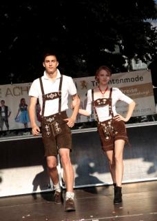 Stadtfest Modenschau Kempten 2013