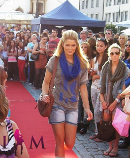 Stadtfest Modenschau Kempten 2012